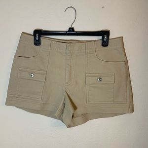 J Crew khaki canvas short